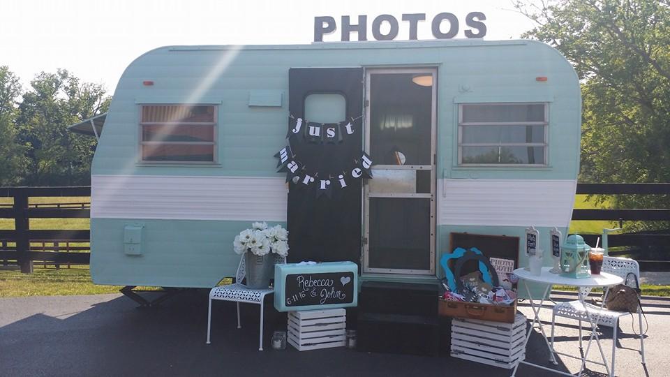 Julep Vintage Camper Photo Booth Rental Cincinnati Ohio