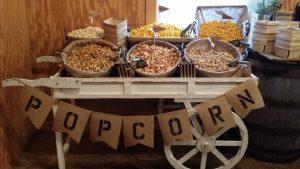 Rustic Popcorn Cart rental cincinnati